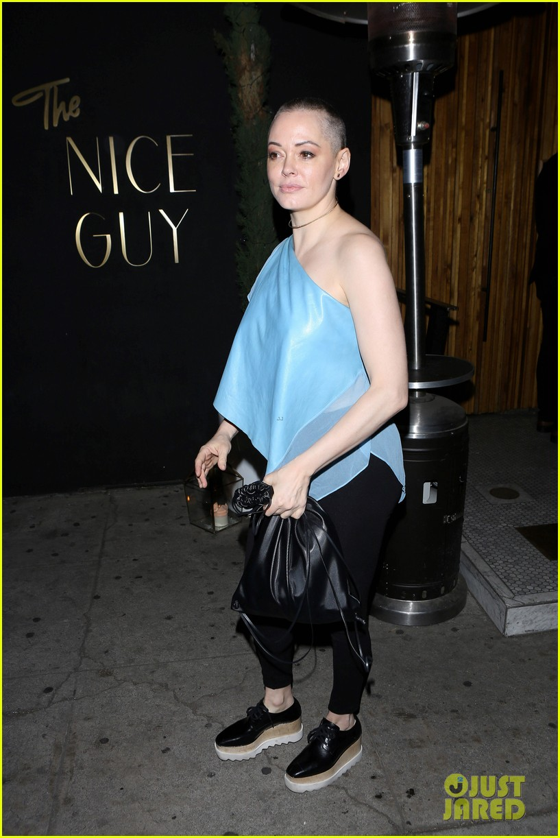 rose mcgowan hangs with pal victor kubicek after split news 133575881