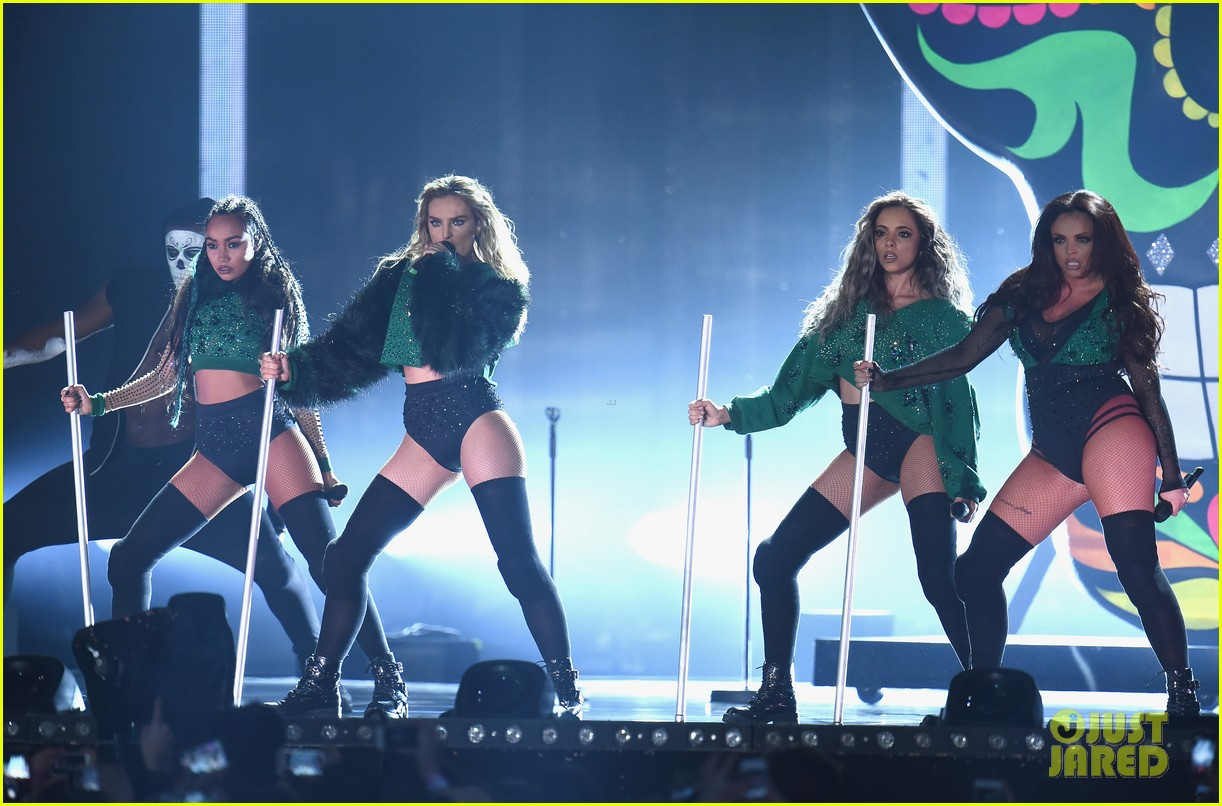 Little Mix Perform 'Black Magic' at BRIT Awards 2016: Photo