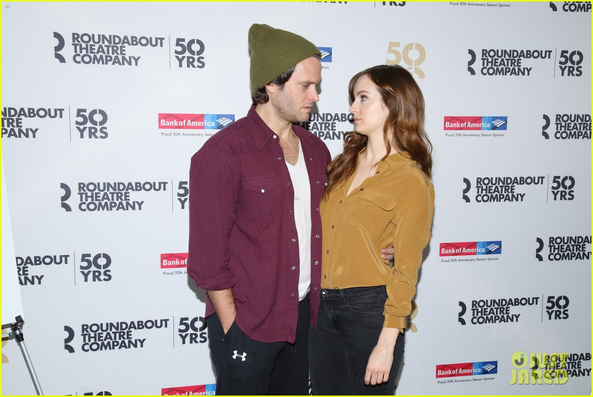 ahna oreilly thanks steven pasquale for his handsomeness 173569403