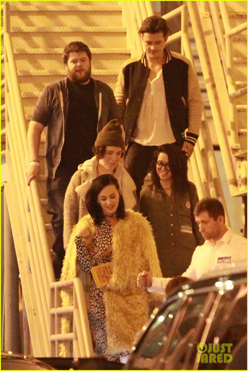 katy perry and orlando bloom couple up at adele concert 023576567