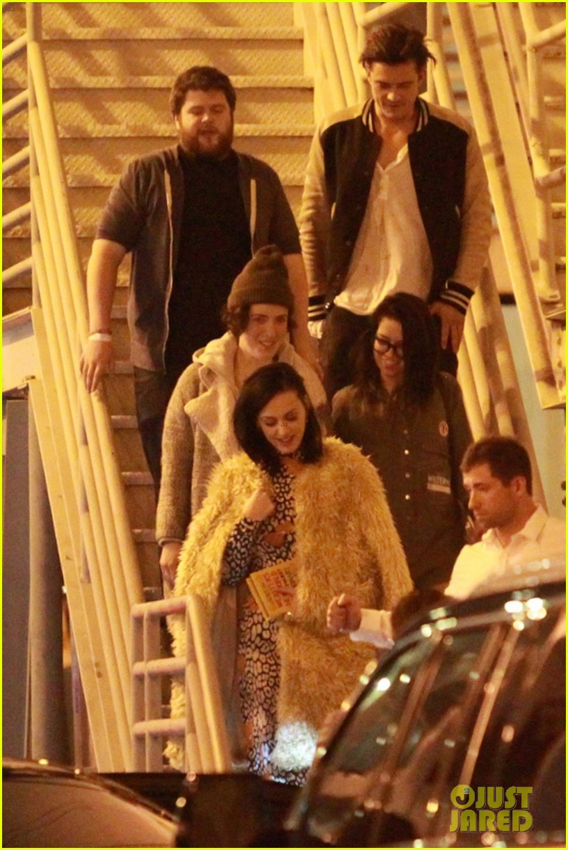katy perry and orlando bloom couple up at adele concert 143576579