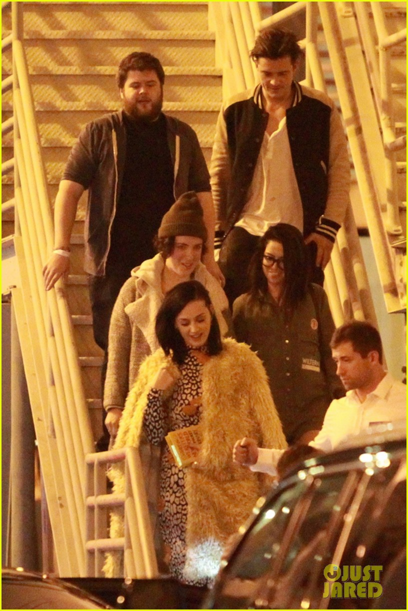 katy perry and orlando bloom couple up at adele concert 183576583