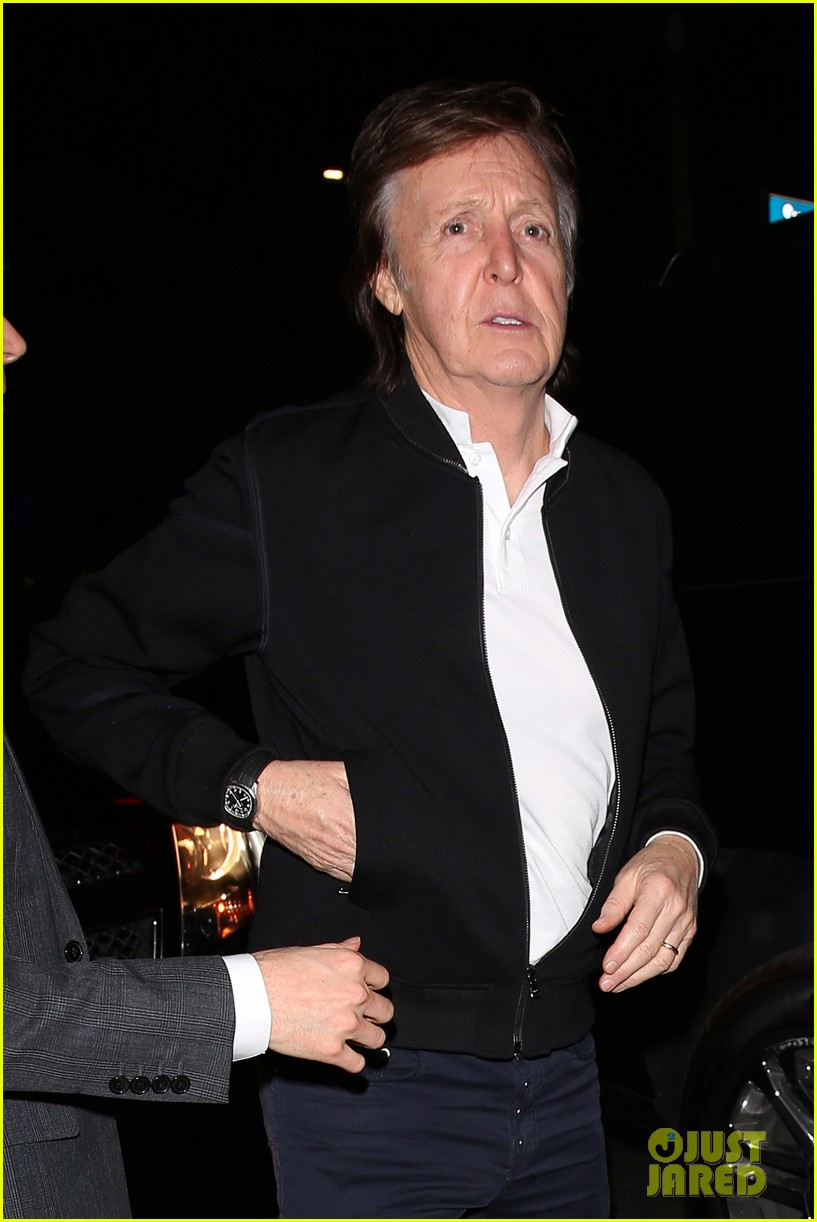 Paul McCartney Denied Entry To Tygas Grammys 2016 After Party