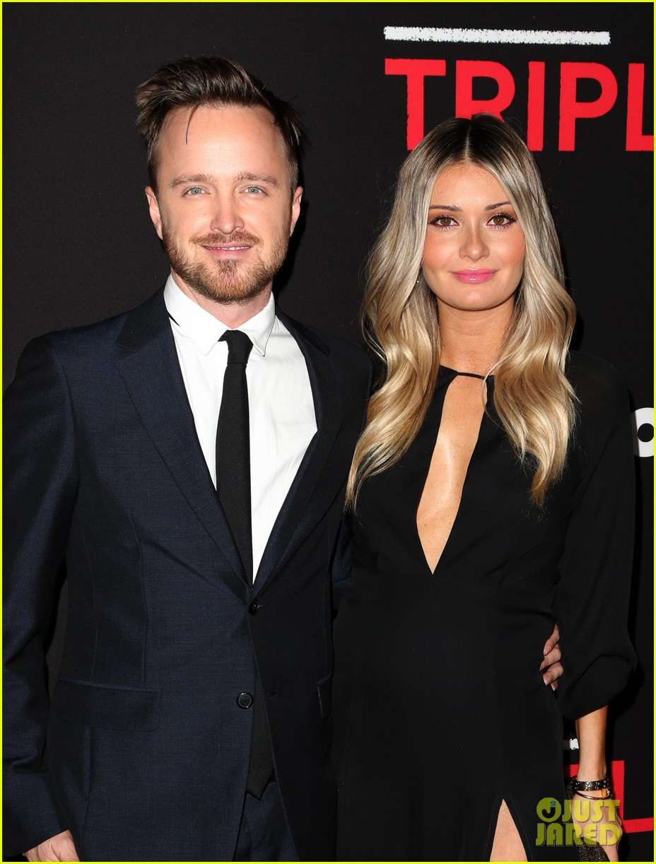 norman reedus aaron paul join triple 9 cast at l a premiere 023581532