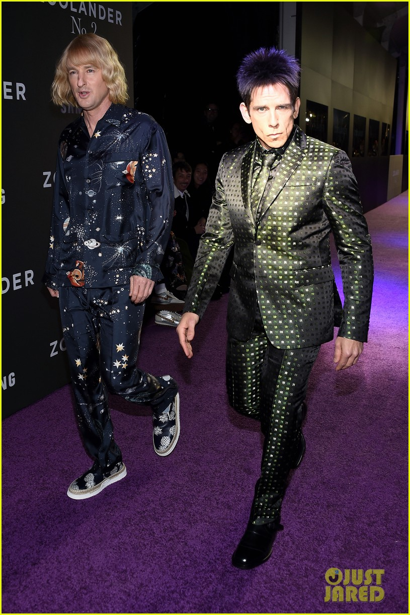 ben stillers son gives off blue steel at zoolander 2 premiere 033573652