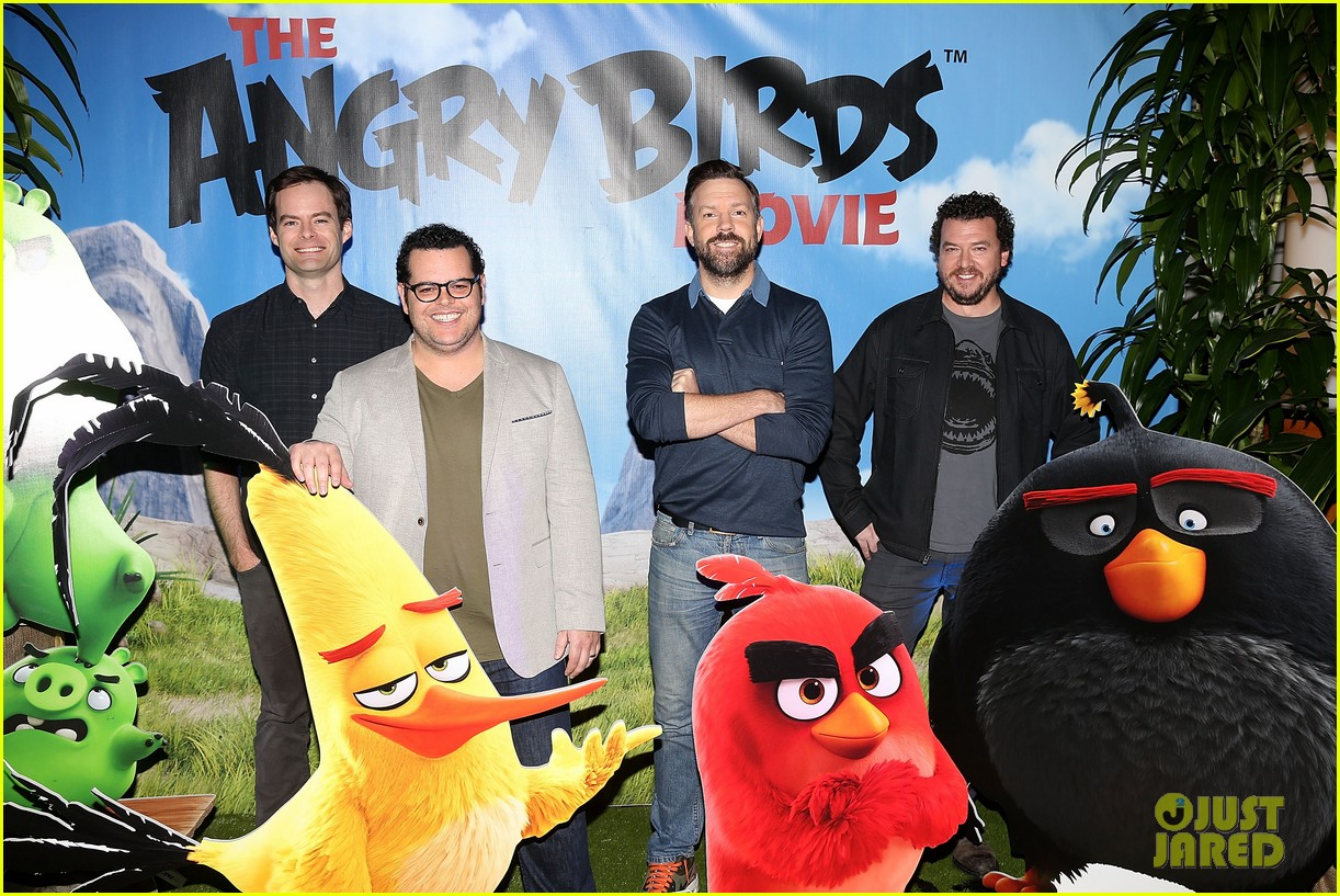 Angry Birds Movie Characters: Jason Sudeikis & 'Angry Birds' Cast Reveal Details About