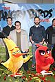 jason sudeikis angry birds cast reveal details about their characters watch trailer 17