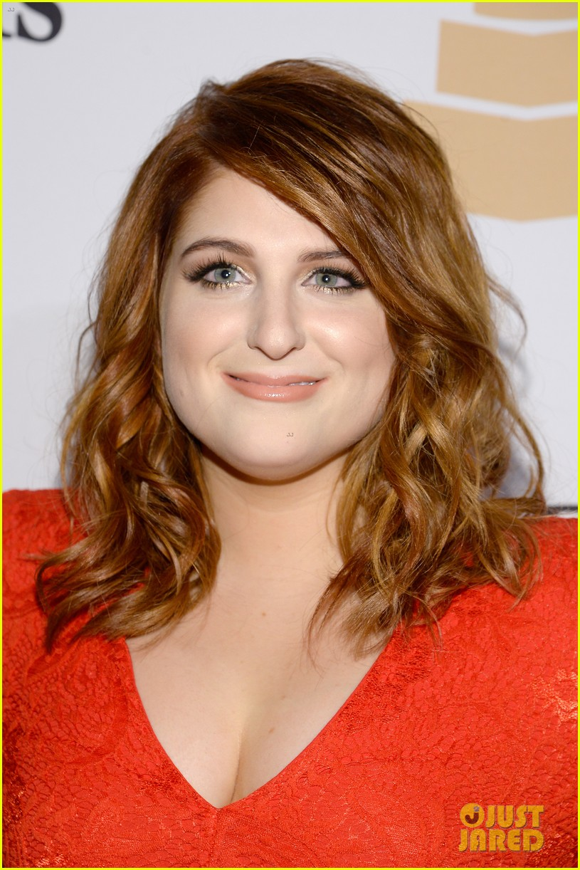 Meghan Trainor Debuts New Hair Color At Pre Grammys Party Photo