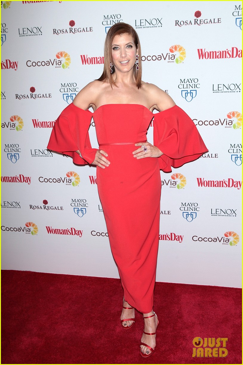 kate walsh supports american heart month at womans day 023573966