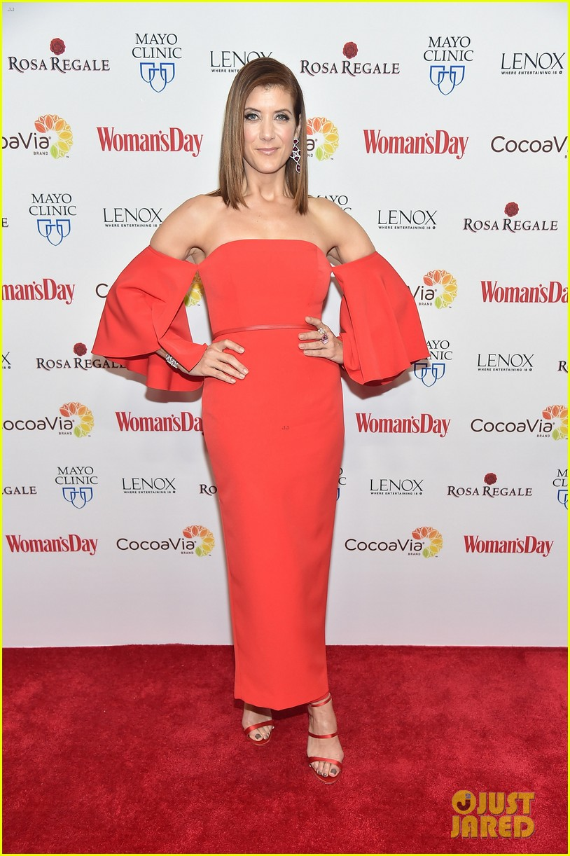 kate walsh supports american heart month at womans day 093573973