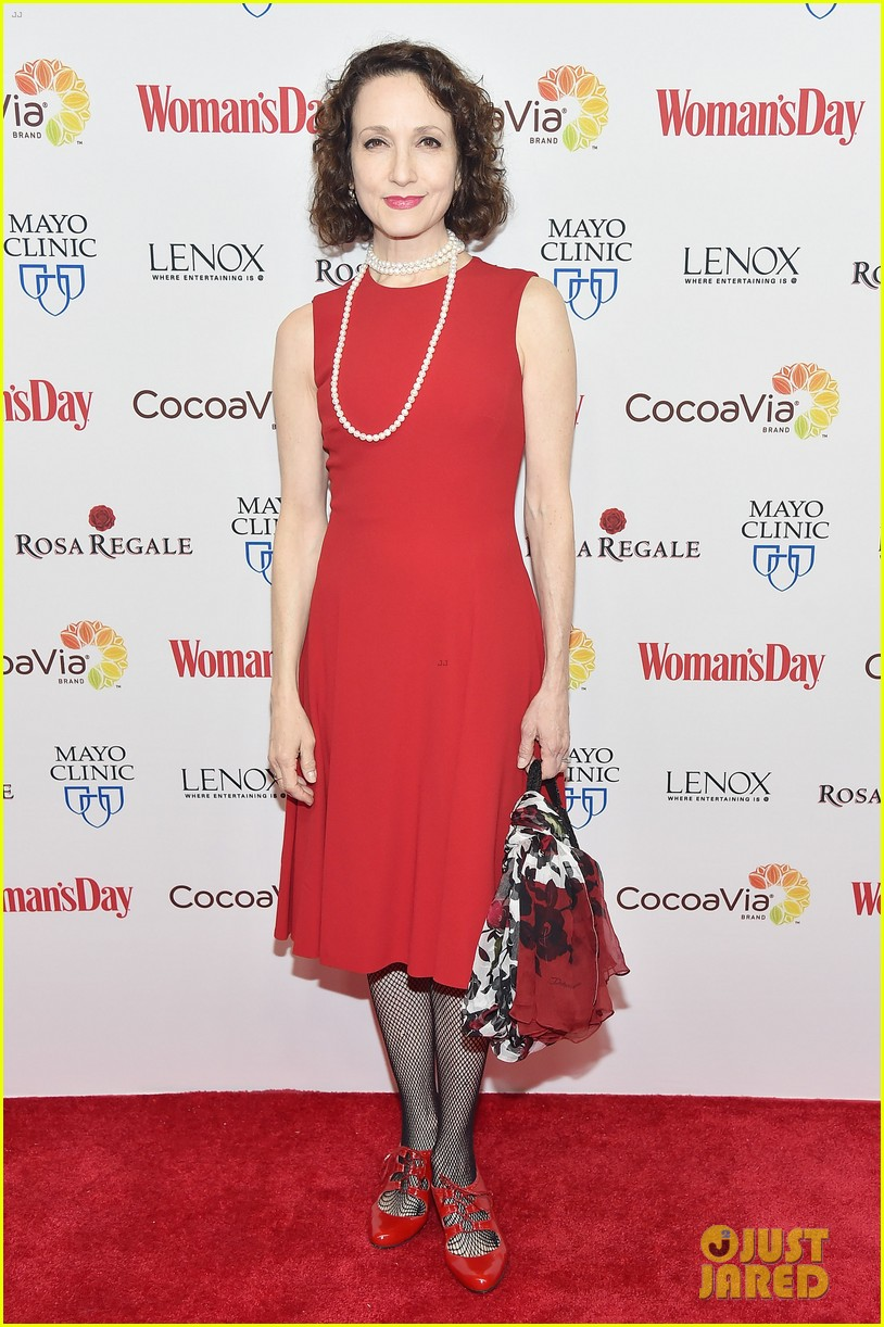 kate walsh supports american heart month at womans day 123573976