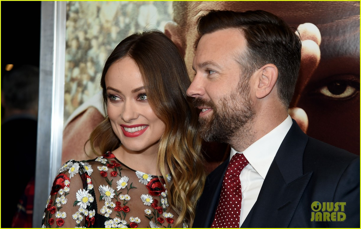olivia wilde and jason in love at race screeening 093582189