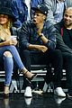 hov and bey chill courtside  for clippers 09