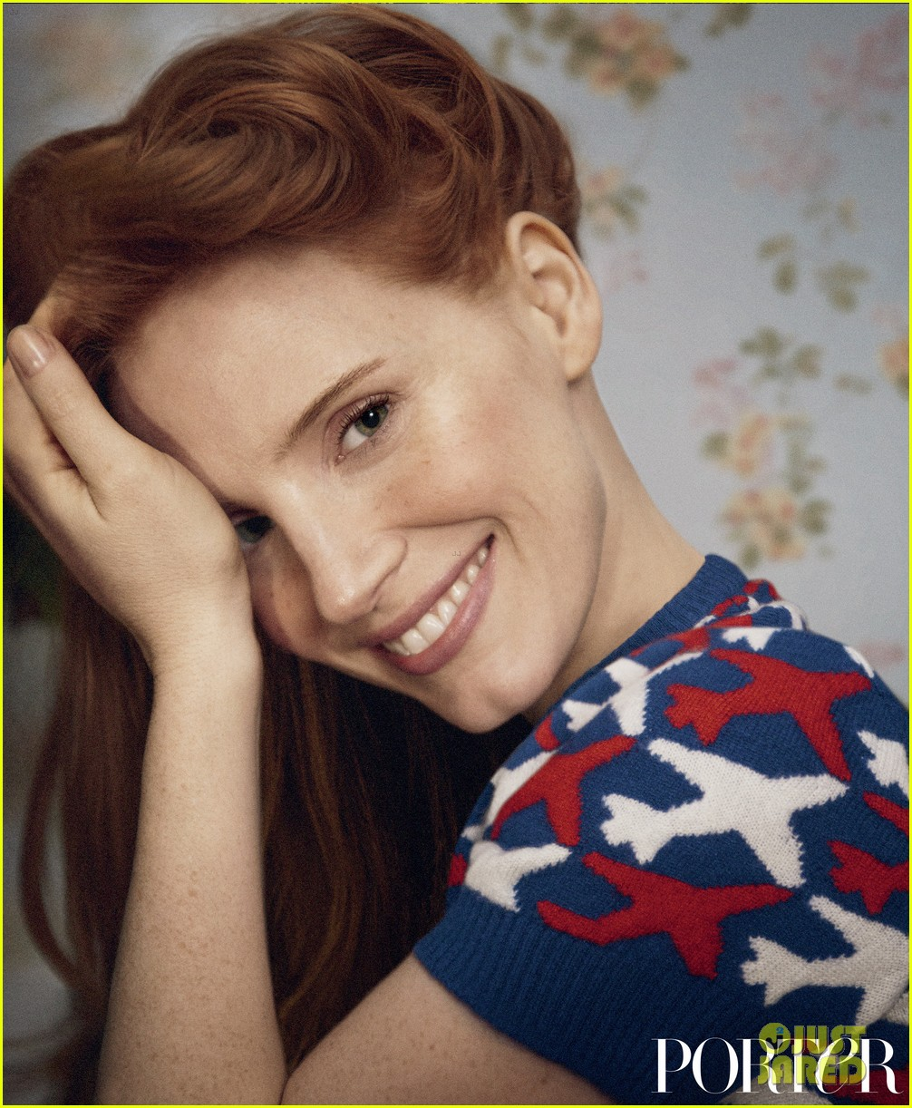 jessica chastain covers porter 023616910