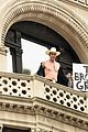 sacha baron cohen get shirtless for funny or die megaphone qa 01
