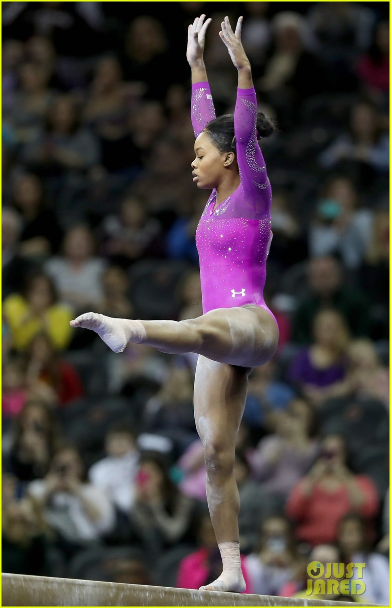 floor gymnastics gabby. Gabby Douglas Wows With American Cup Floor Routine! (Video) Gymnastics