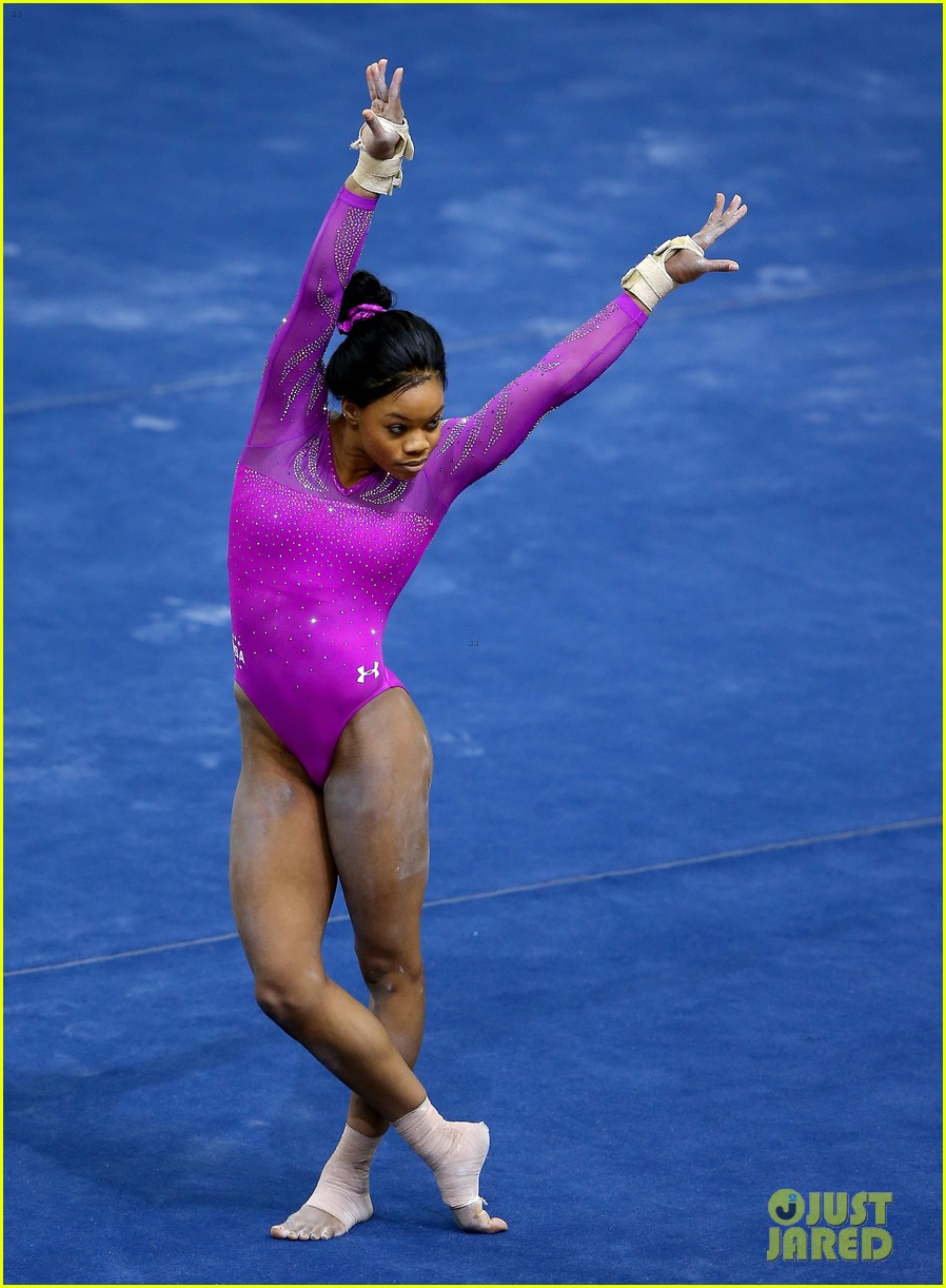 floor gymnastics gabby. Gabby Douglas Wows With American Cup Floor Routine! (Video) Gymnastics E