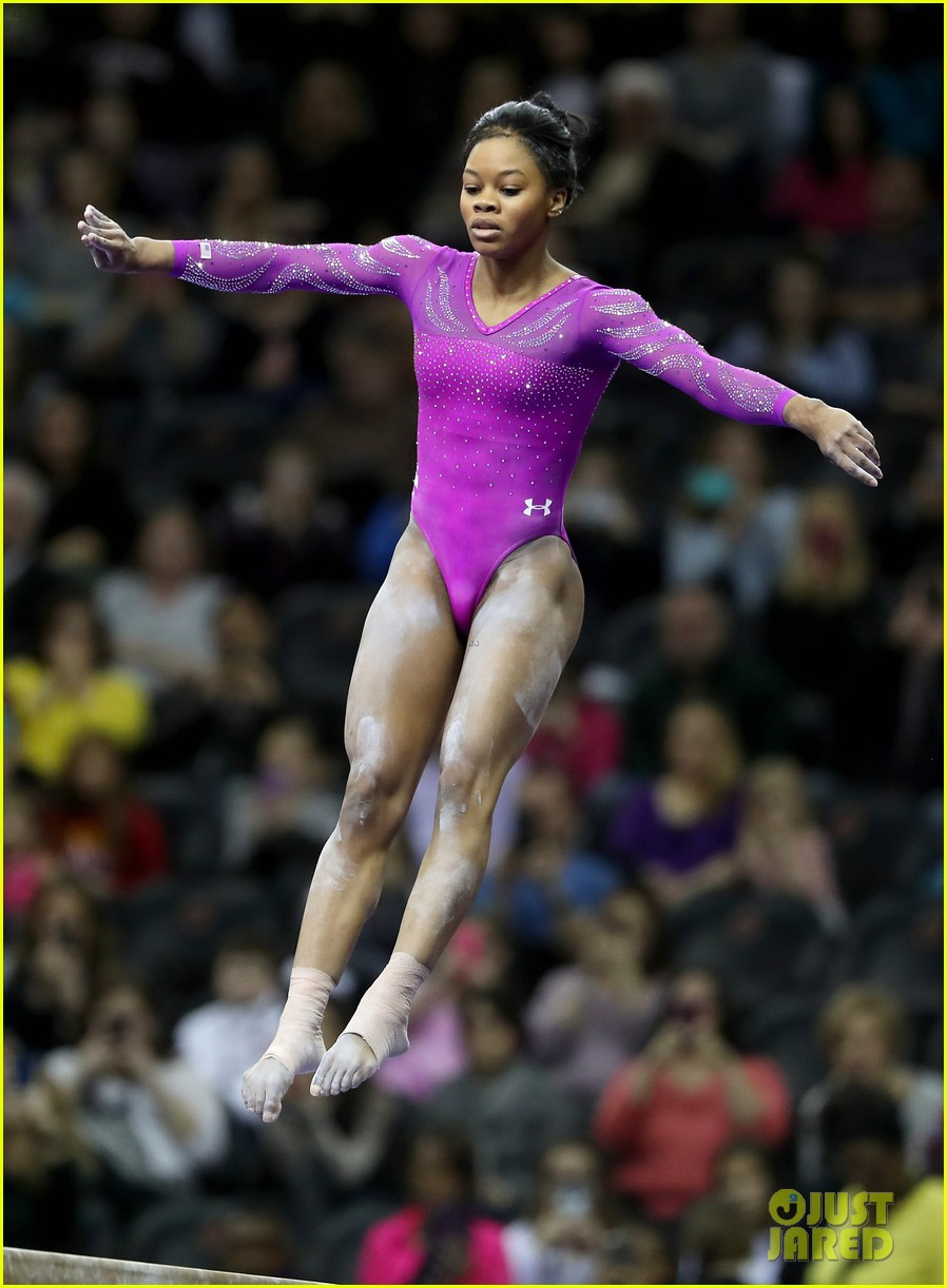 Gabby Douglas Wows With American Cup Floor Routine Video