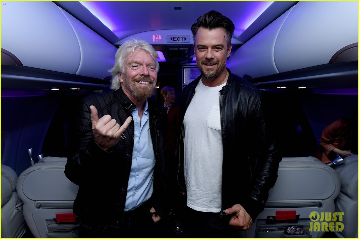 josh duhamel takes flight on virgin americas inaugural san francisco to denver launch 083607027