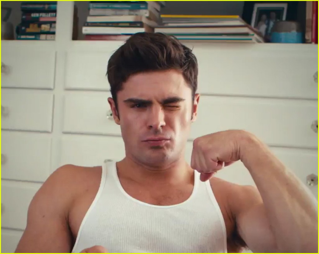 zac efron has a major selfie stick addiction in this funny video watch now photo 3605720. Black Bedroom Furniture Sets. Home Design Ideas
