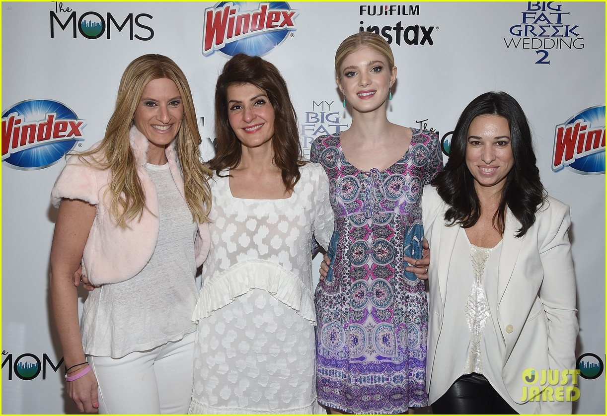 Nia Vardalos & Elena Kampouris Promote 'My Big Fat Greek Wedding 2 ...
