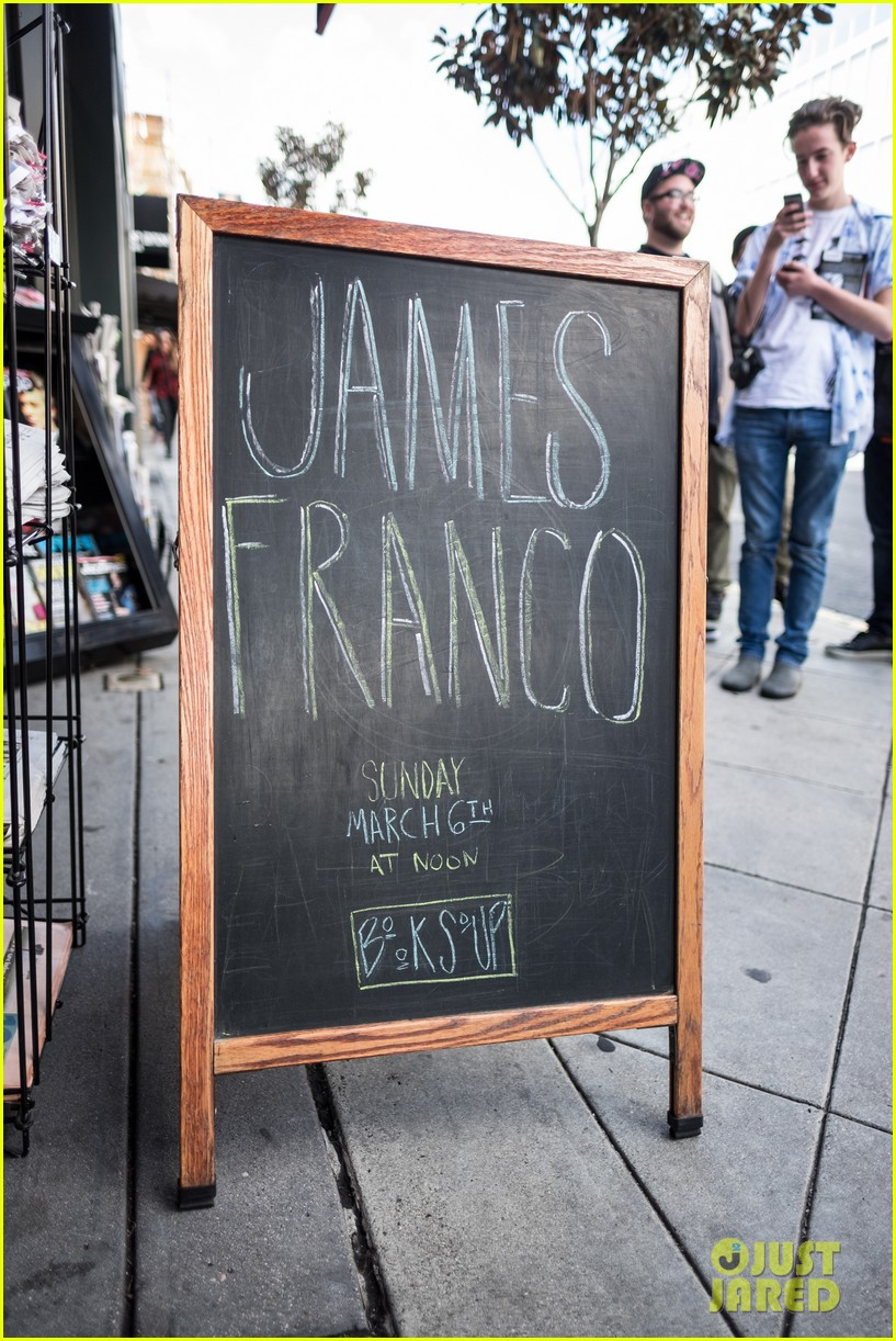 james franco book signing west hollywood 063599009