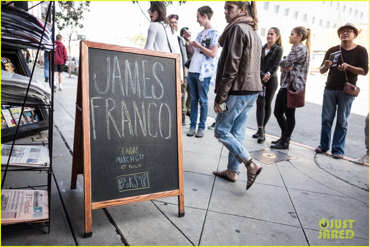 james franco book signing west hollywood 093599012