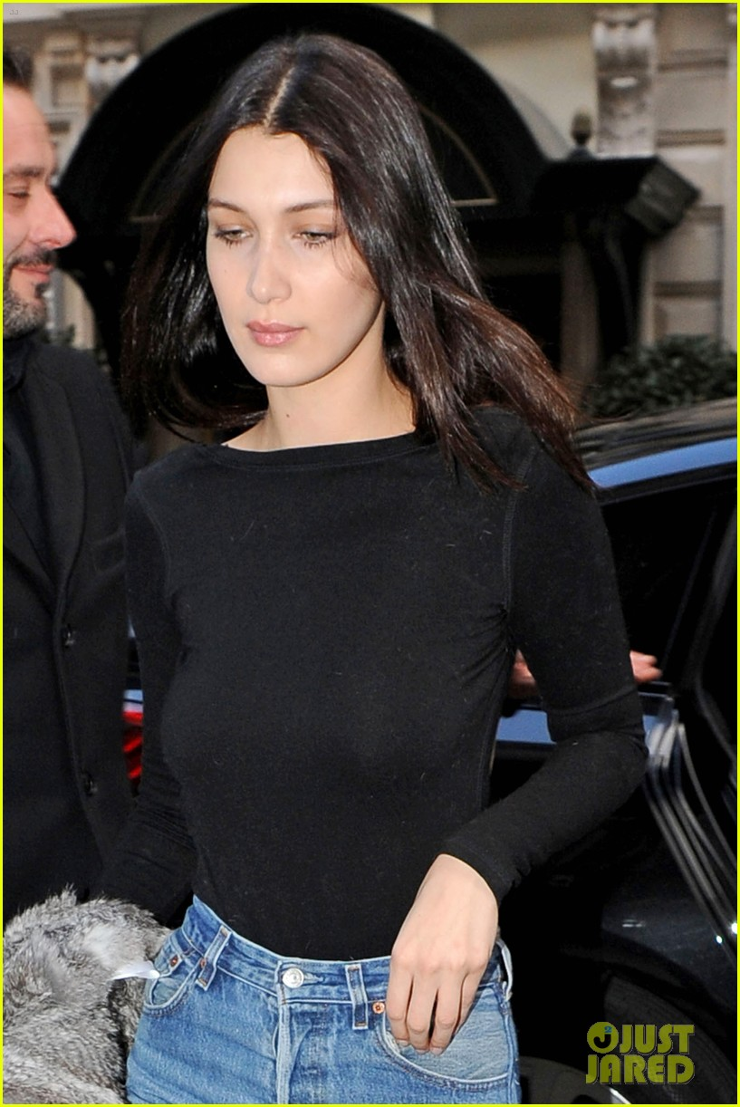 Kendall Jenner Bella Hadid Prep For Chanel Fashion Show