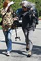 khloe kardashian kendall jenner kylie jenner disguise run from photographers 22