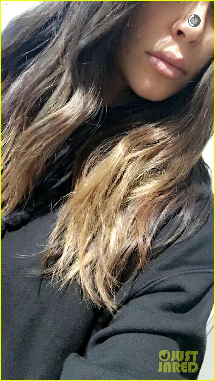 Kim Kardashian Shows Off New Ombre Hair Color Photo 3607732 Kim