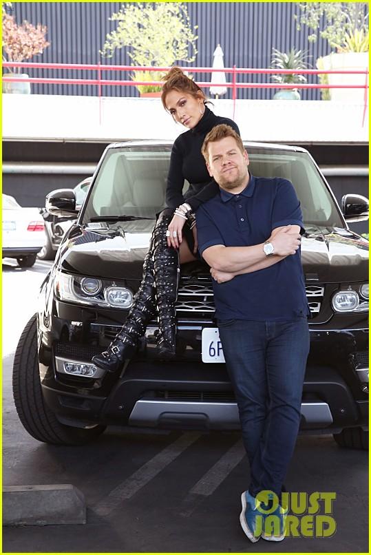 Jennifer Lopez S Carpool Karaoke With James Corden Video Photo