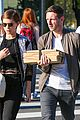 kate mara jamie bell couple up for afternoon errands 13