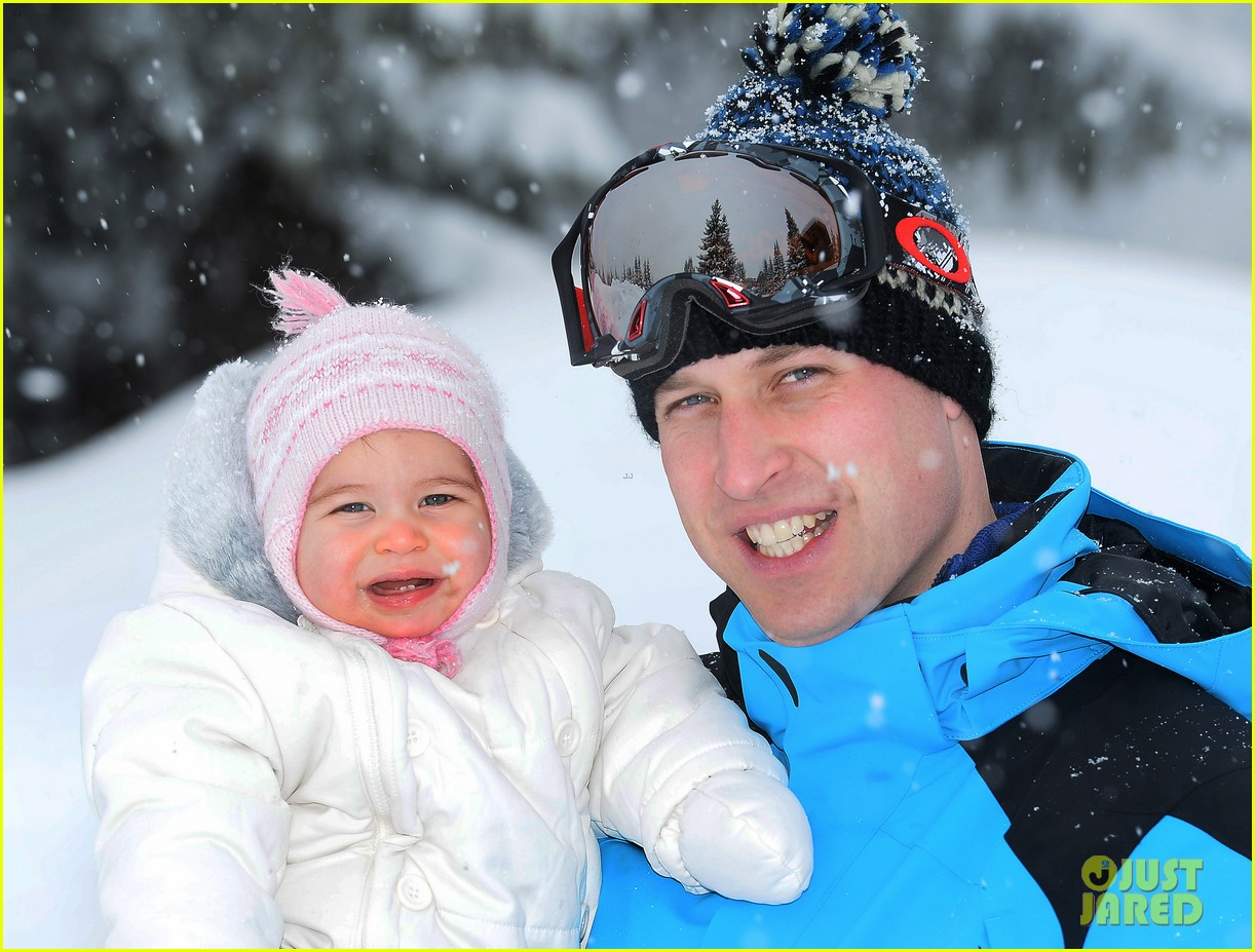 prince william kate middleton family ski trip george charlotte 023599425
