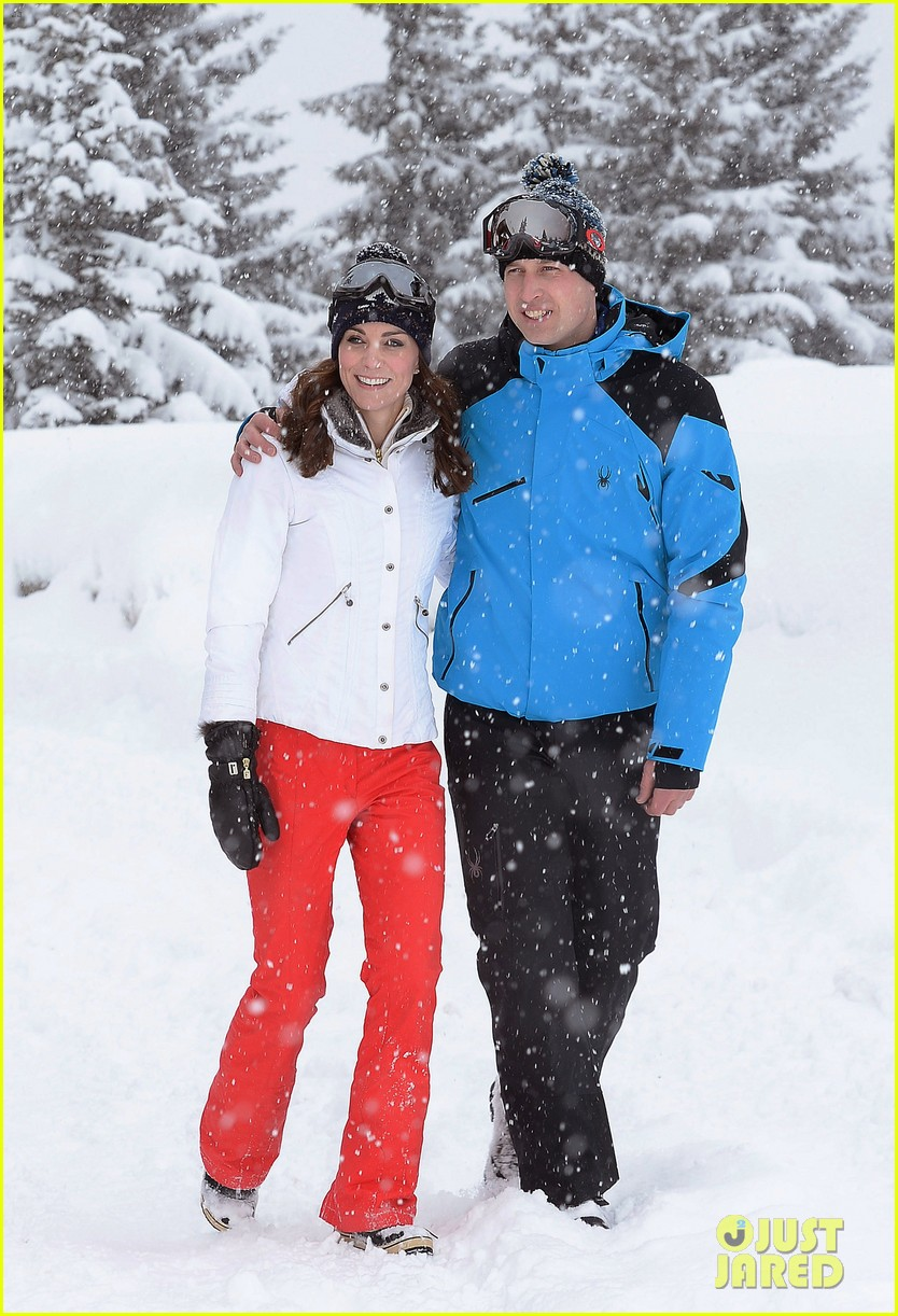 prince william kate middleton family ski trip george charlotte 073599430