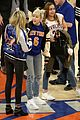 miley cyrus knicks game brandi courtside 03