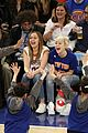 miley cyrus knicks game brandi courtside 11
