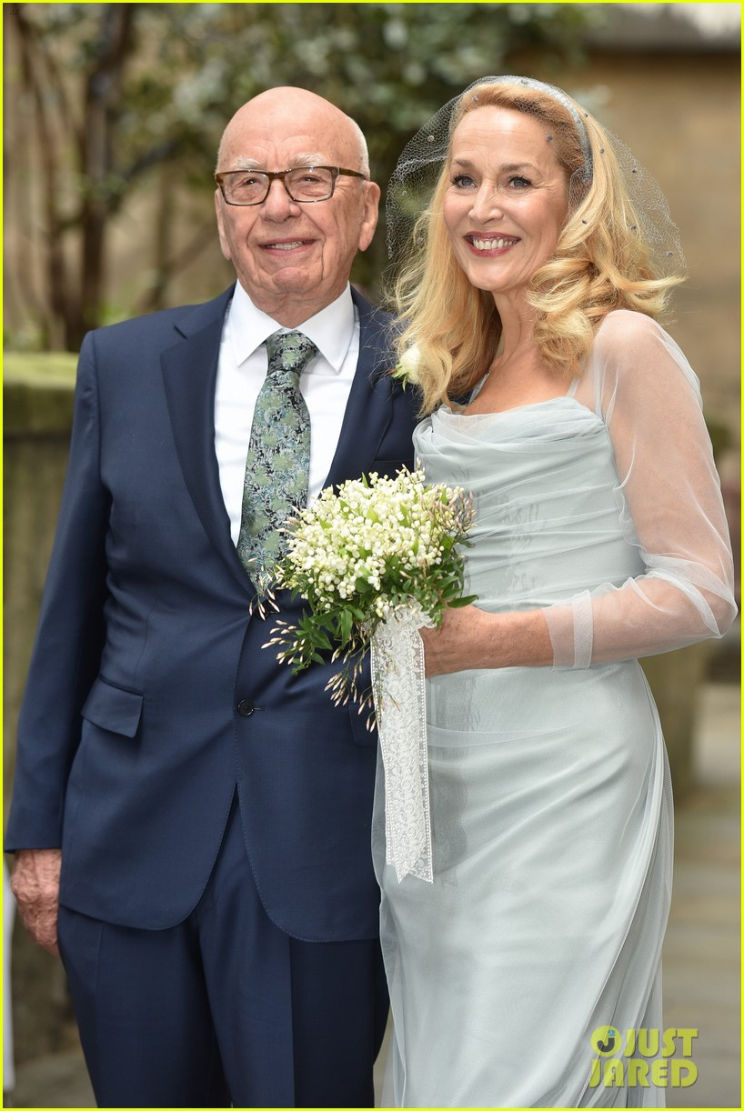 Abby Huntsman Wedding >> Rupert Murdoch & Jerry Hall Get Married Again - Wedding