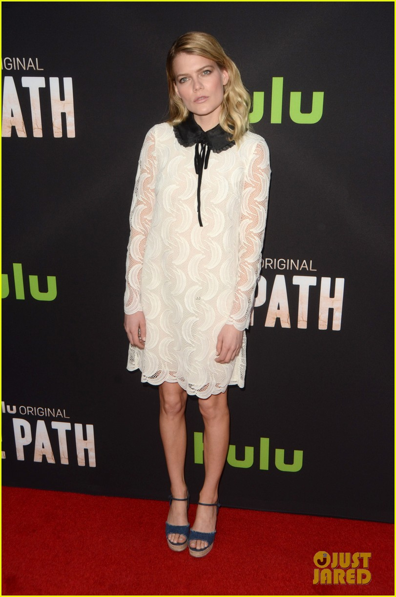 aaron paul hugh dancy michelle monaghan team up at the path premiere 033611560