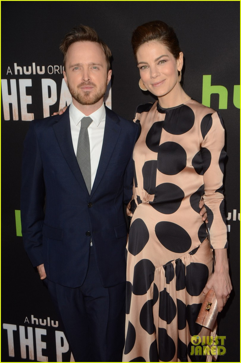 aaron paul hugh dancy michelle monaghan team up at the path premiere 093611566