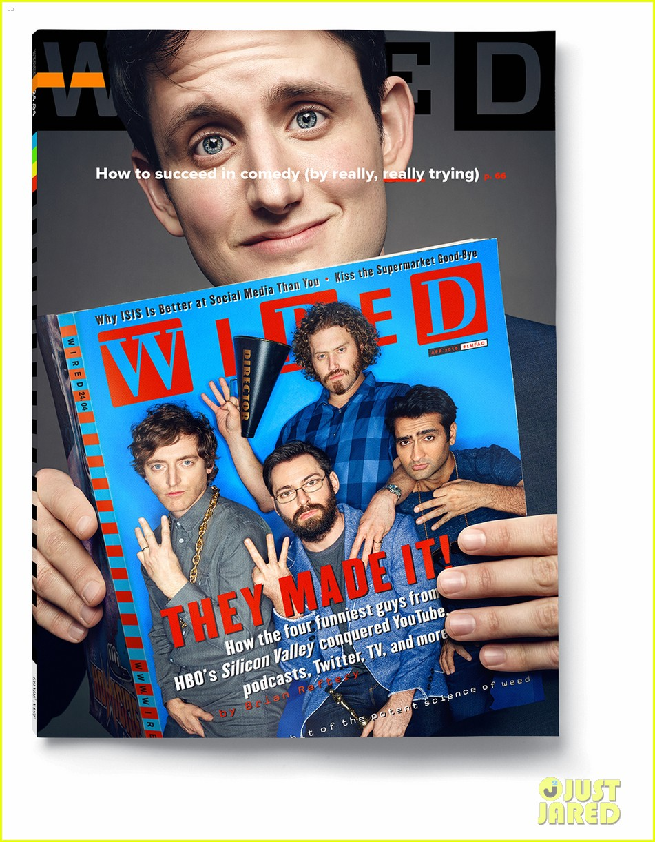 silicon valley cast gets individual covers 033615299