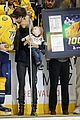 carrie underwood baby isaiah support mike fisher at 1000th nhl game 04