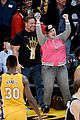 rebel wilson cheers on lakers with mystery man by her side 09