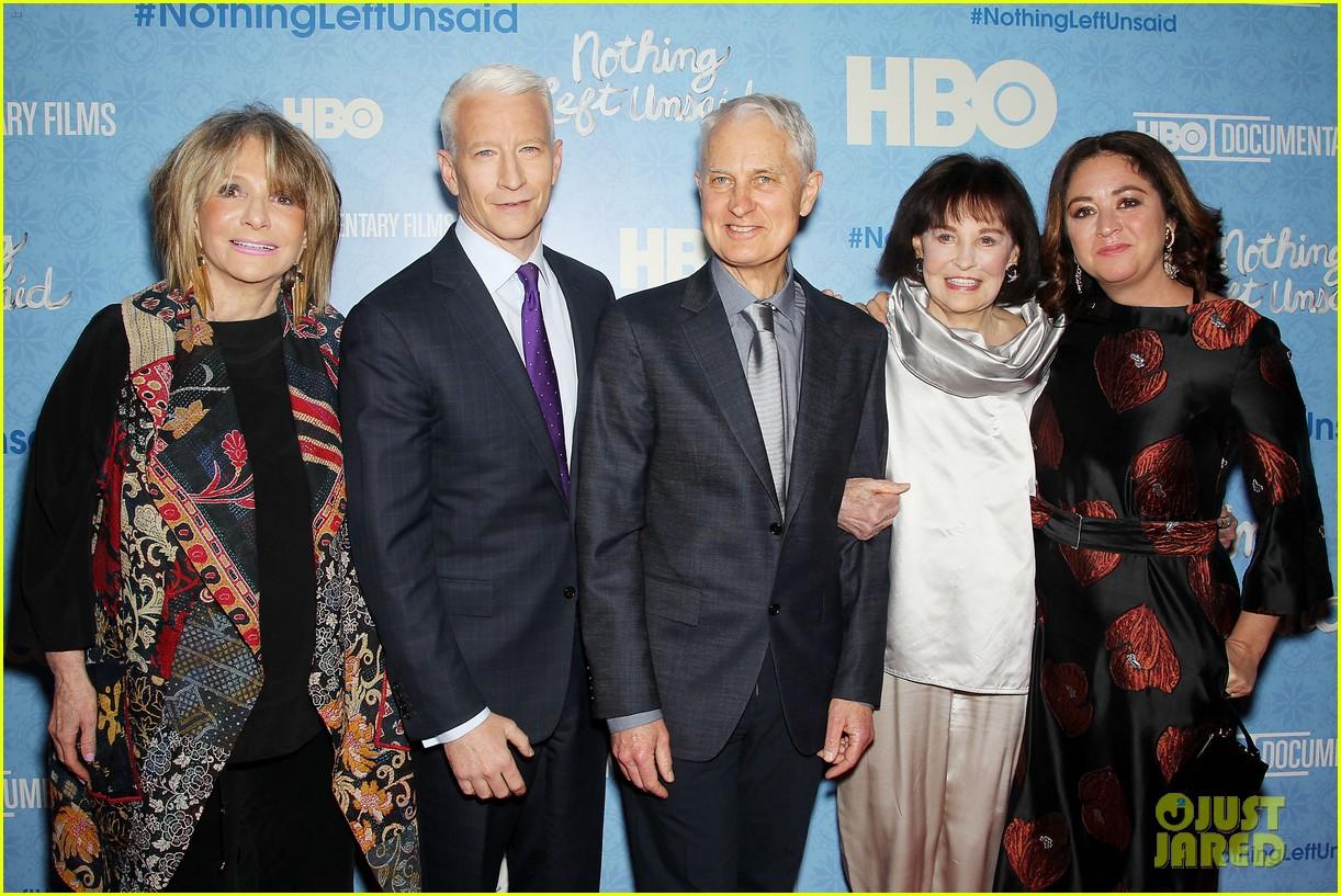 Anderson Cooper & Gloria Vanderbilt Premiere 'Nothing Left