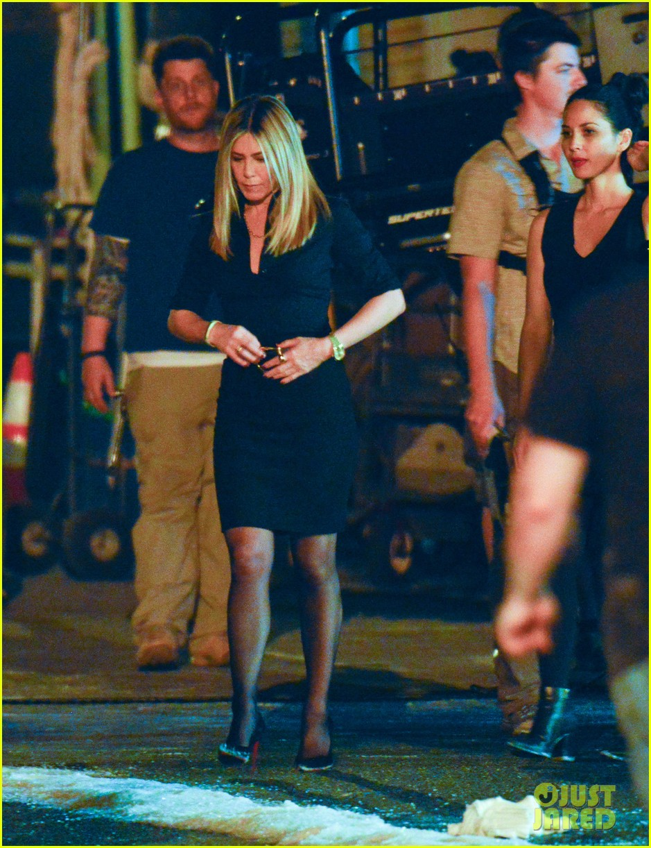 Jennifer Aniston & Olivia Munn Start Work on \'Office Christmas Party ...