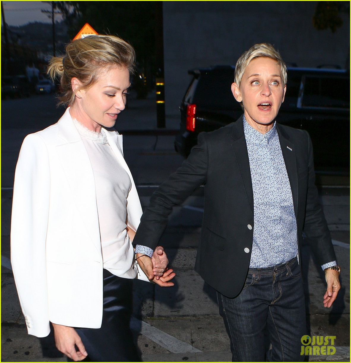 Portia De Rossi Wedding Gown: Ellen DeGeneres & Portia De Rossi Enjoy Date Night At