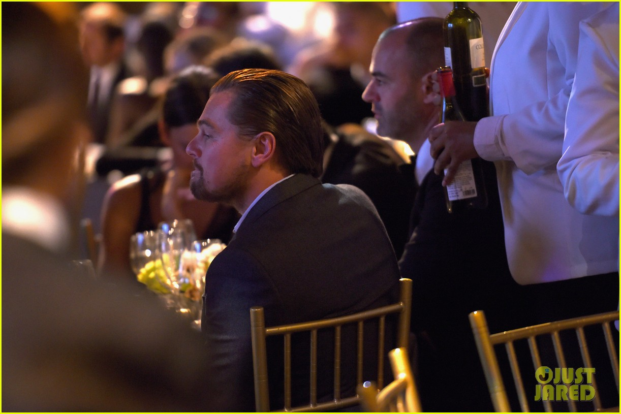 leonardo dicaprio shows support at foundation fighting blindness world gala 033629781