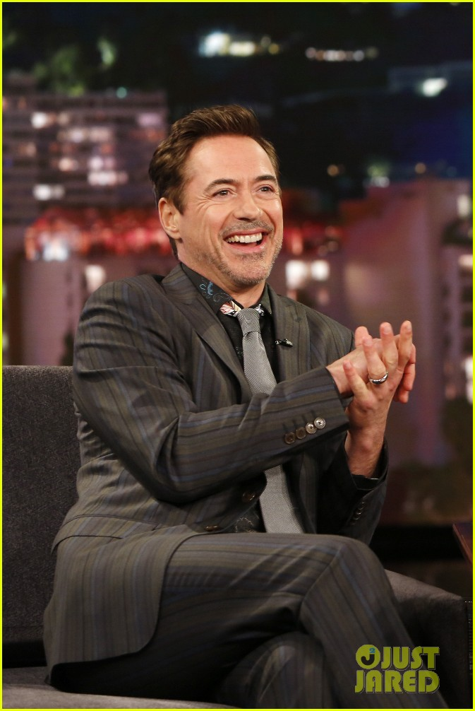 robert downey jr team cap jimmy kimmel 023630607