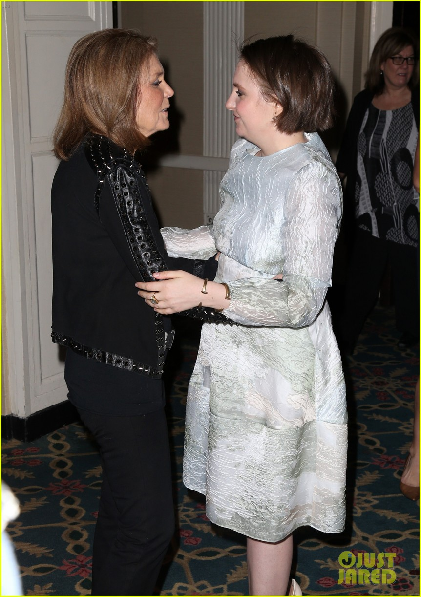 lena dunham katie couric matrix awards 083639971