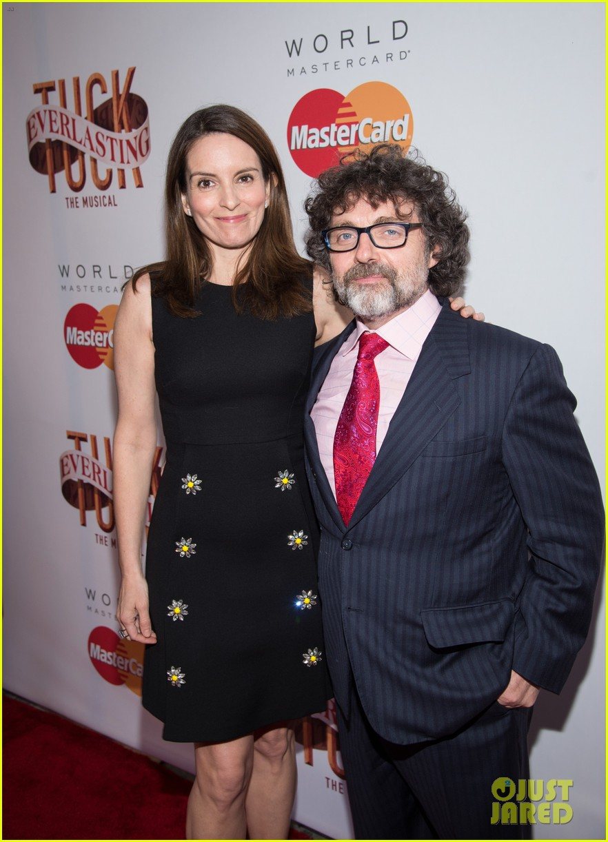 tina fey hubby jeff richmond have broadway date night at tuck everlasting opening 013641297