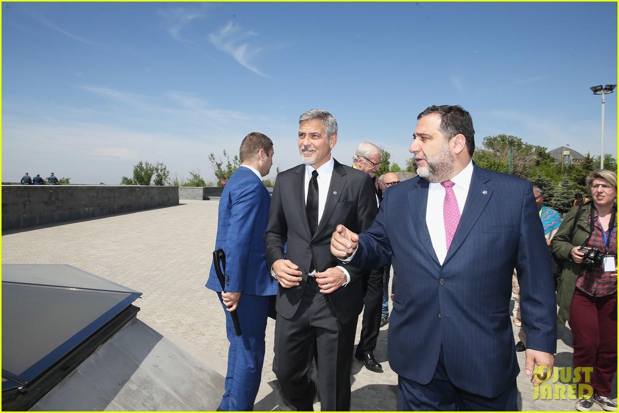 george clooney genocide memorial armenia 043638908